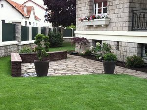 Installation de jardinières